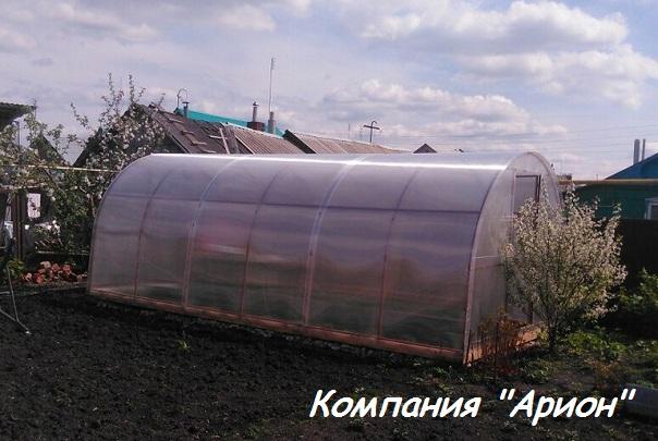 Теплицы из поликарбоната в Челябинске